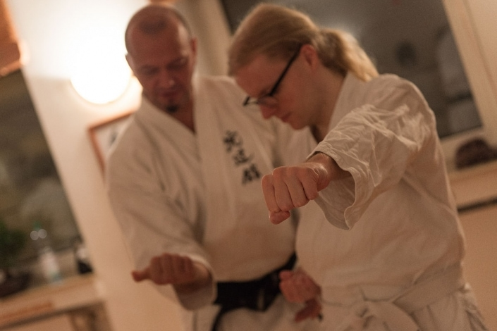 Mugen Dojo Karate Do, Selbstverteidigung