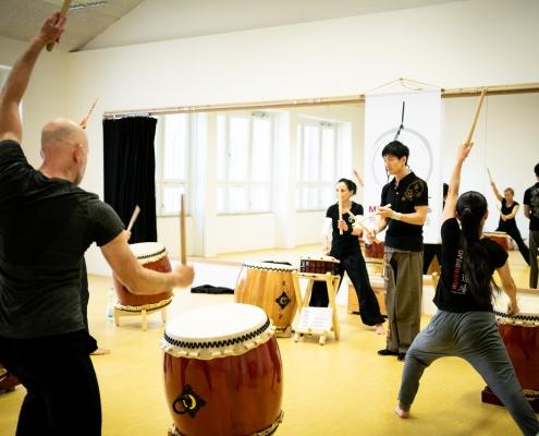 Taiko, Wadaiko, Mülheim Ruhr, japanisches Trommeln, Workshop